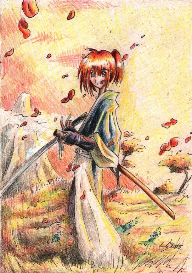 Bloody petals by eikomakimachi