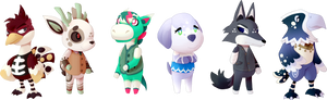 A Bunch of Villagers