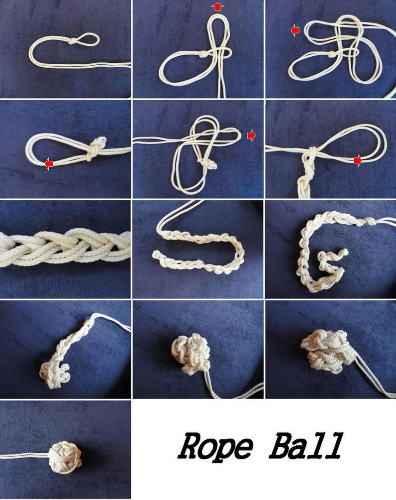 Rope Ball by industrieschornstein