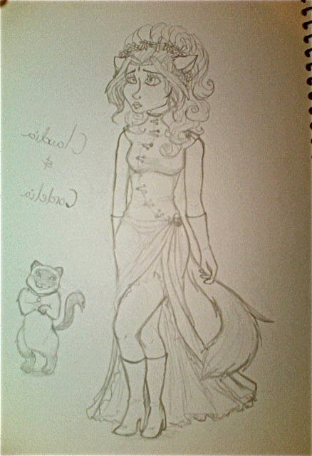 Claudia and Cordelia (character reference 1) by caseyandhismunks