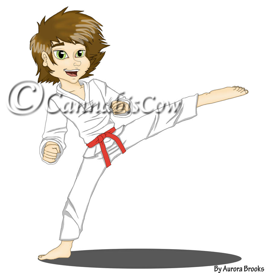 Karate Kid by CannabisCow