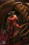 ANOTHER GENERIC DRAGON FALLS by einhajar