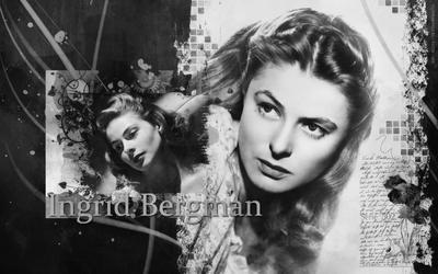 Ingrid Bergman by Udavo4ka