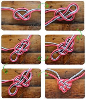 Celtic heart tutorial