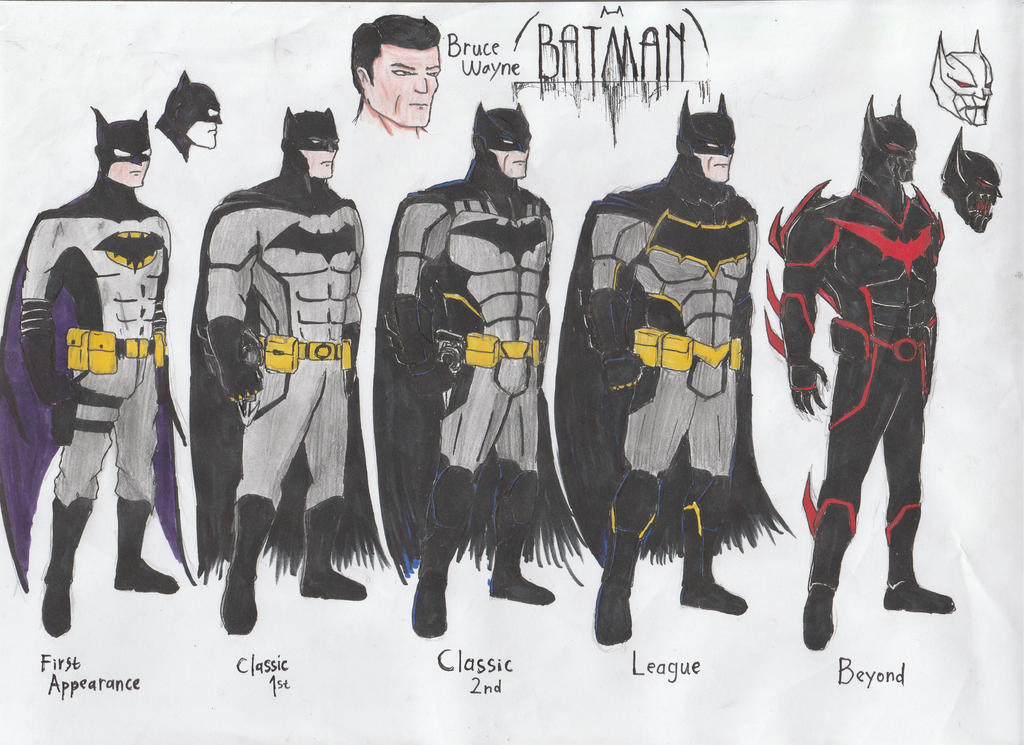 Batman Redesign by Julalesss
