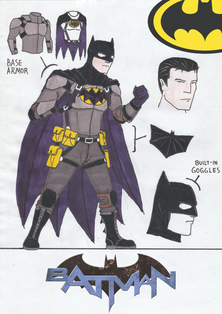 Batman (Zero Year) REDESIGN by Julalesss on DeviantArt