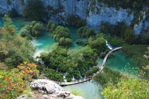 Plitivce lakes in Croatia