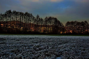 Frosty nightfall