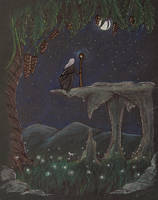 Night's magic (my style redraw) by nkyvi