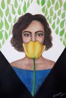 Yellow tulip by nkyvi
