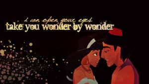 Aladdin and Jasmine Wallpaper
