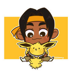 Hunk and Jolteon