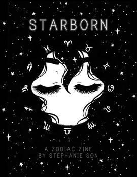 STARBORN Zodiac Zine Cover