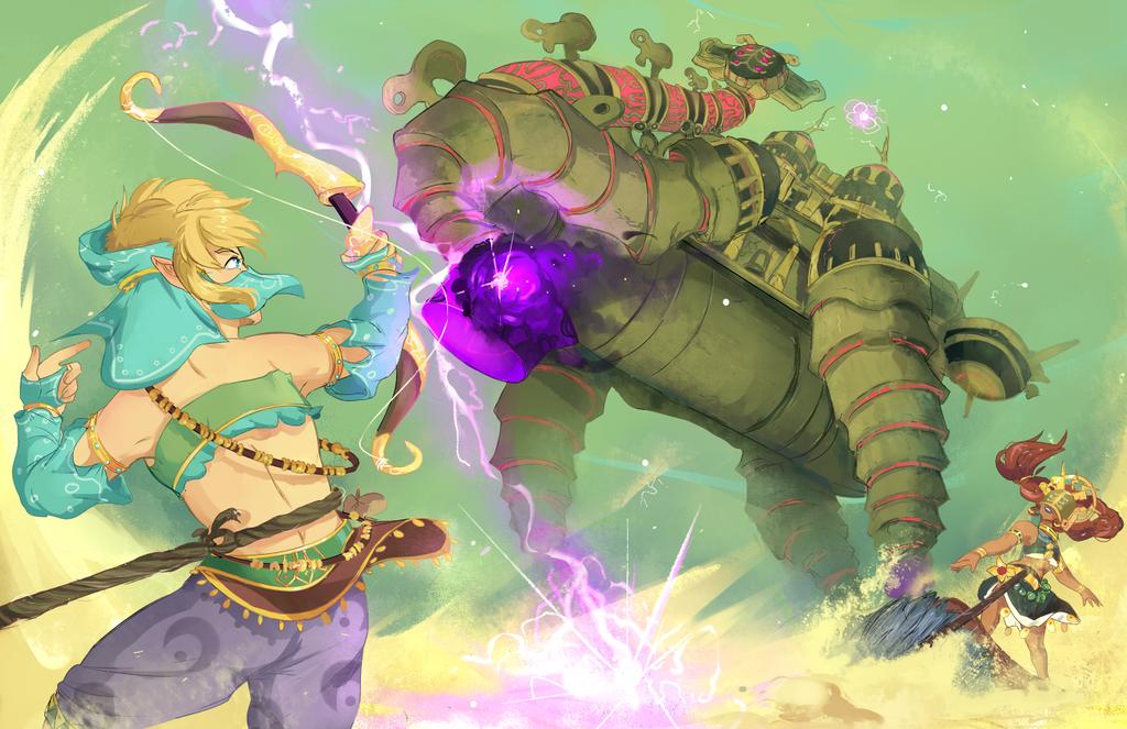 Divine Beast (SPEEDPAINT) by dratinigirl