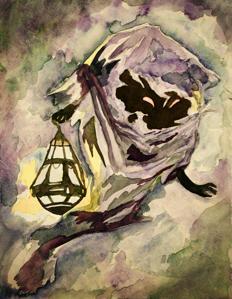 A Poe's Lantern by MaroziDawn
