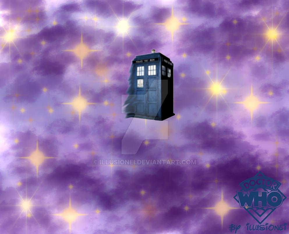 Dr Who Tardis Fan Art by Illusionei