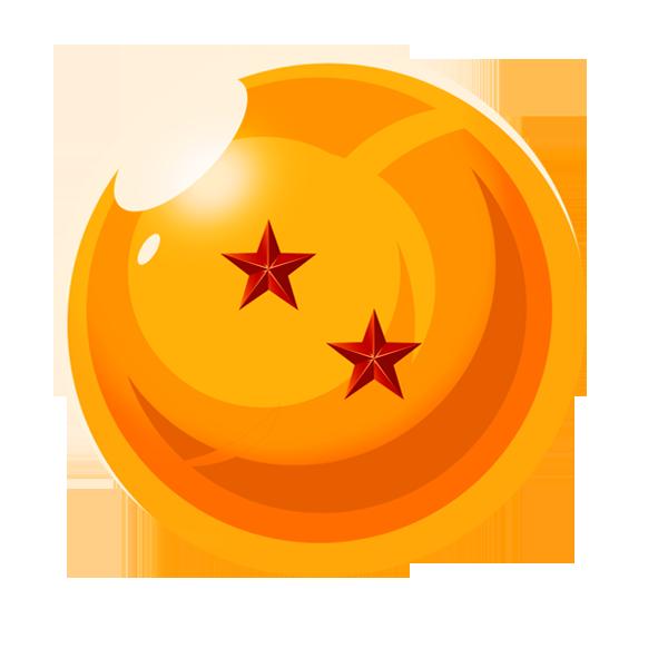 esfera del dragon 2 estrellas by vaer2000 on DeviantArt