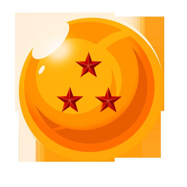 esfera del dragon 3 estrellas by vaer2000 on DeviantArt