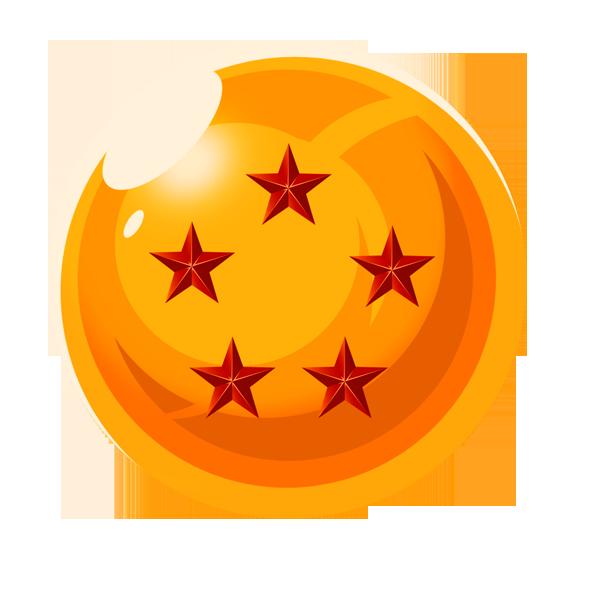 esfera del dragon 5 estrellas by vaer2000 on DeviantArt