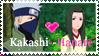 ::Stamp:: KakashiXHanare by Myttens