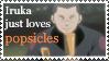 ::Iruka just loves popsicles:: by Myttens