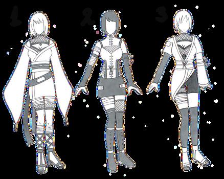 ::FREE Naruto Adopt Outfits::
