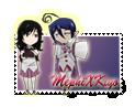 ::Stamp:: MephiXKiyo by Myttens
