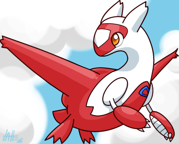 Latias by Latte3000