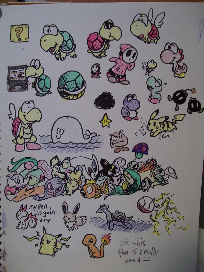 Nintendoodles by Latte3000