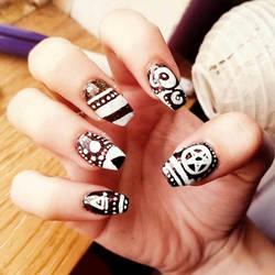 Zenart Nail Designs by Lazyass23