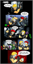 RE4: Leon vs krauser by Thallin