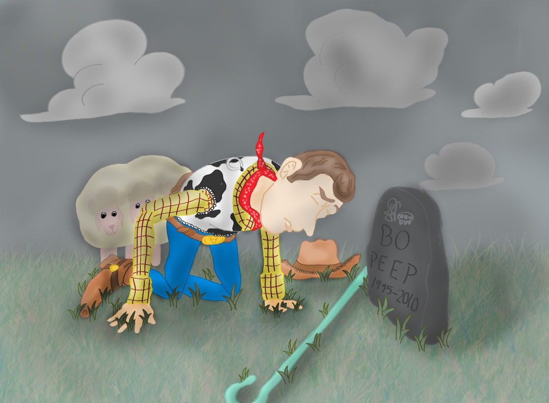 A Cowboy's Goodbye by K9girl06