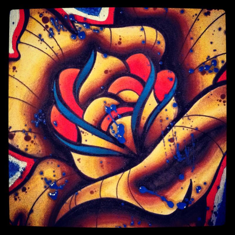 Oil Rose by AVStattoo