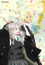 CM - Charity and Frederic - Hogwarts period