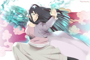 Hinata fights