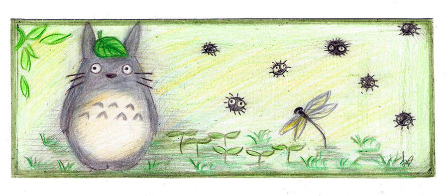 Totoro by Spirit-Phoenix