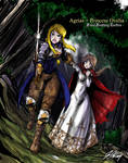 Agrias and Princess Ovelia