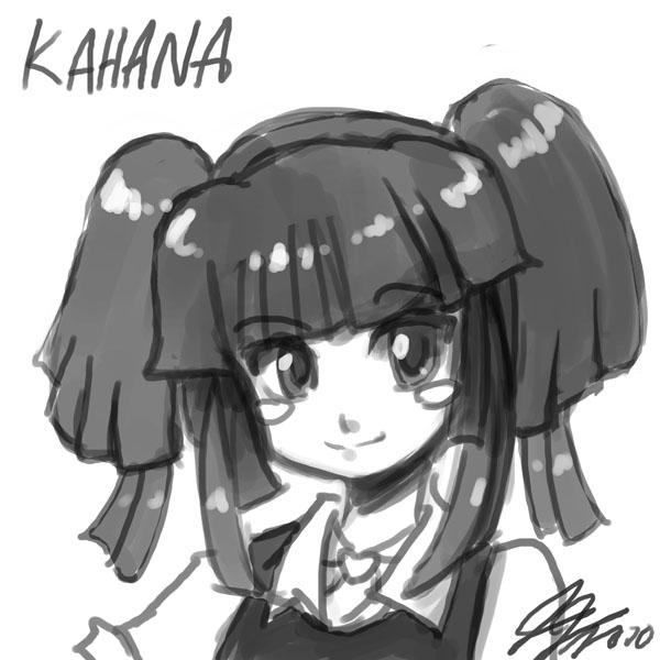 Kahana Head Sketch by johnjoseco
