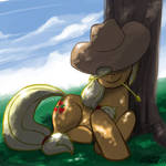 Apples Relaxing in the Shade