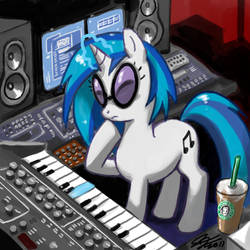 DJ PONY in the Studio by johnjoseco