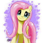 Fluttershy's Happiness