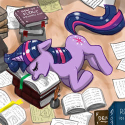 Too Much Studying by johnjoseco
