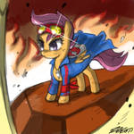 Scootaloo the Digger
