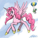 Pinkie Pie The Pegasus Unicorn