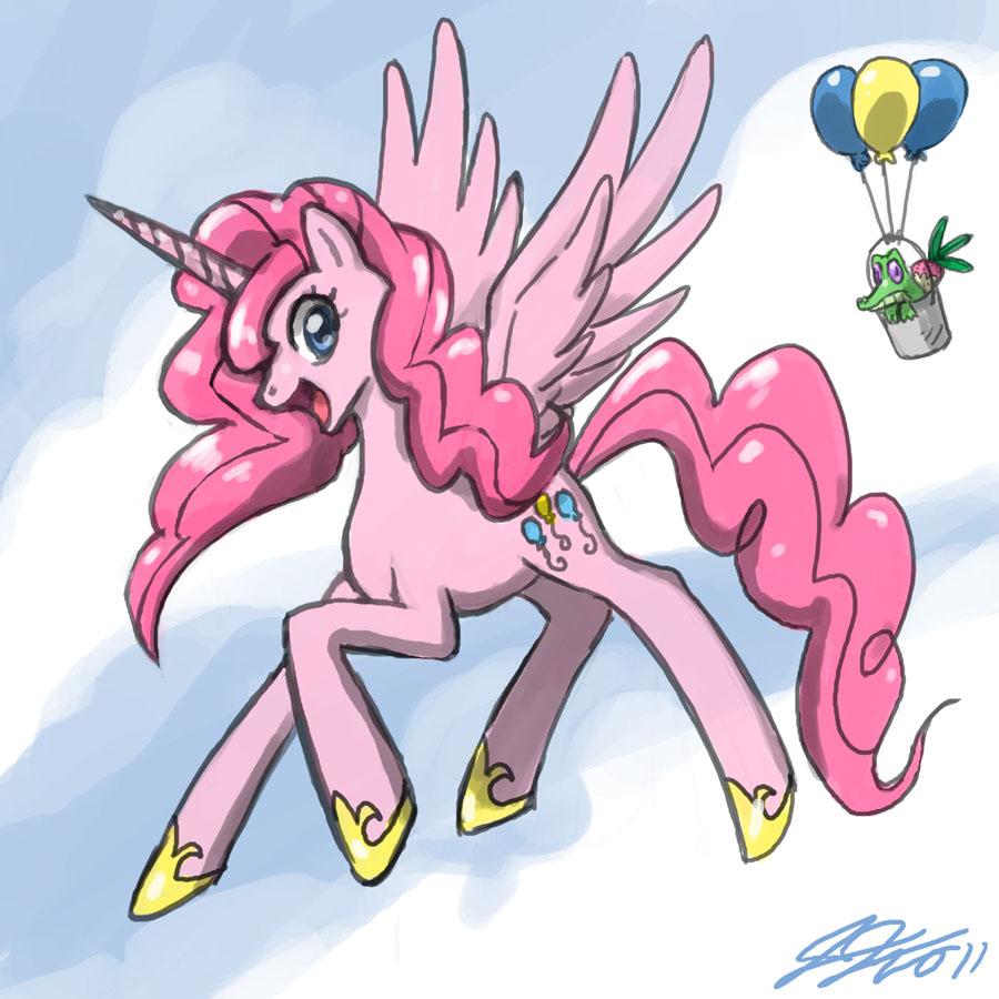 Twilight Sparkle glorification thread Pinkie_pie_the_pegasus_unicorn_by_johnjoseco-d3g1qvz
