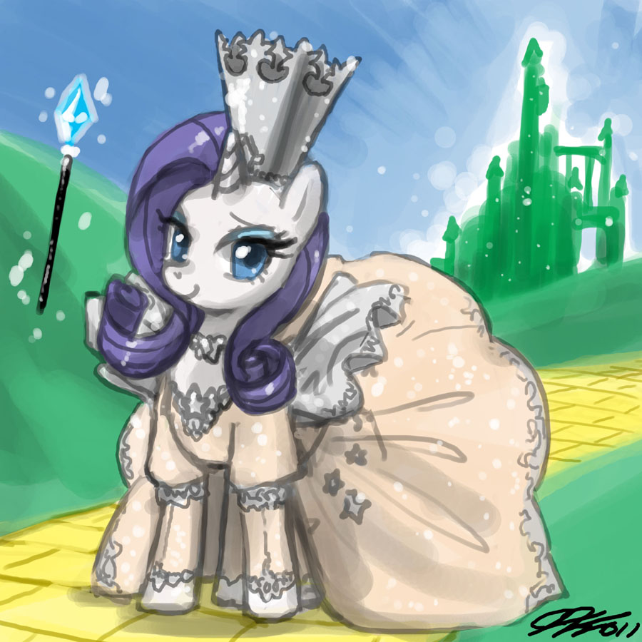 Good Witch Rarity by johnjoseco