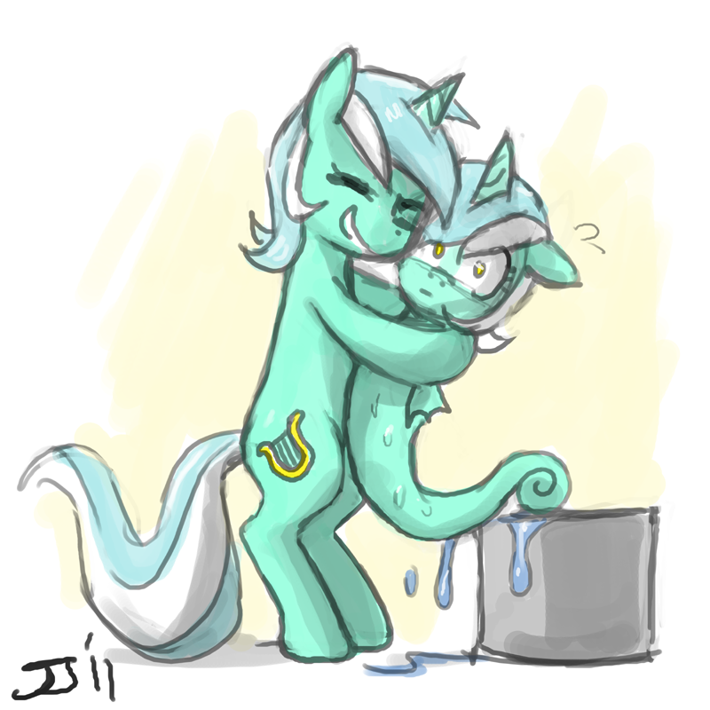Lyra meets Lyra by johnjoseco