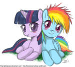 Filly Dash and Twilight
