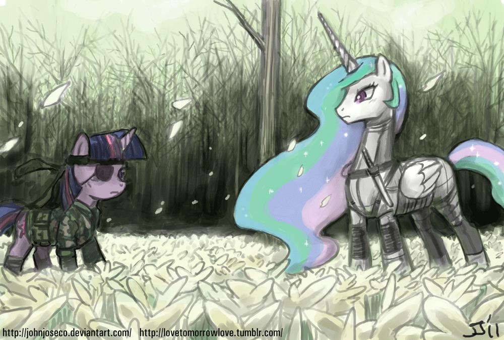 Twilight Snake v Boss Celestia by johnjoseco