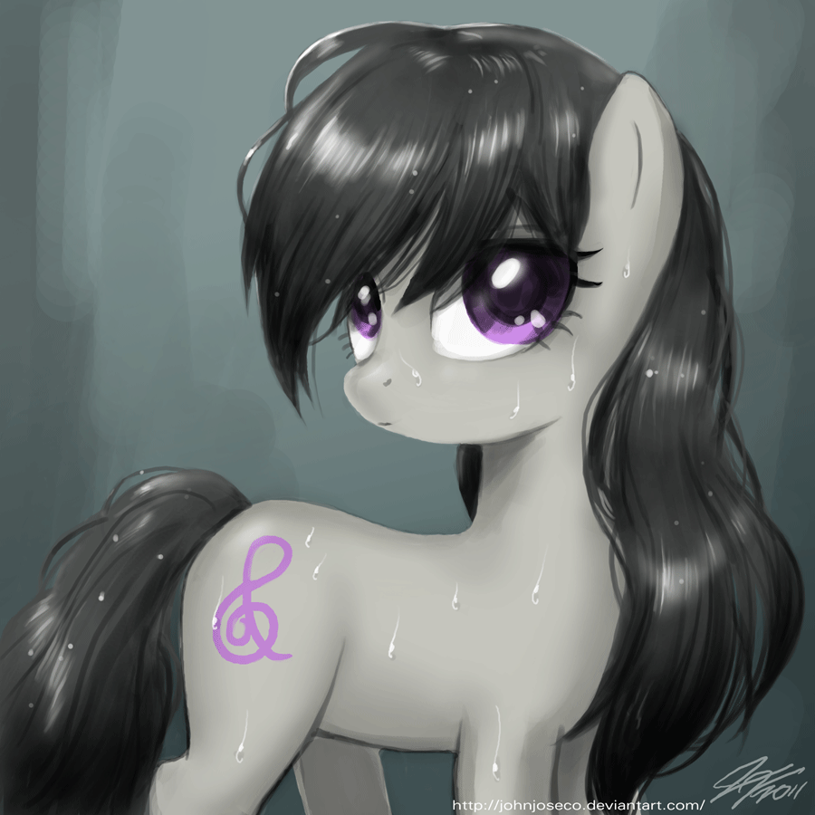 Wet Hair Octavia by johnjoseco